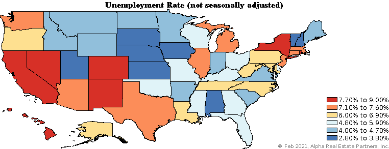 State Unemployment Rates